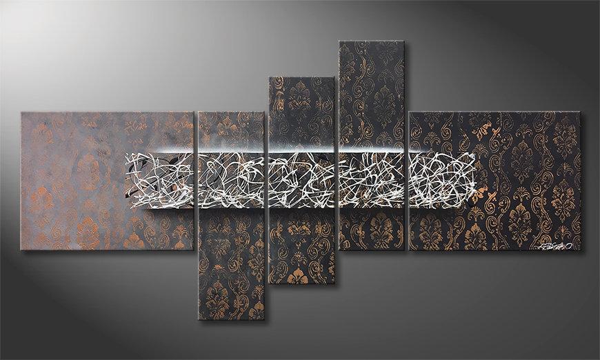 Malarstwo na płótnie Phenomenal Moment 160x80x2cm