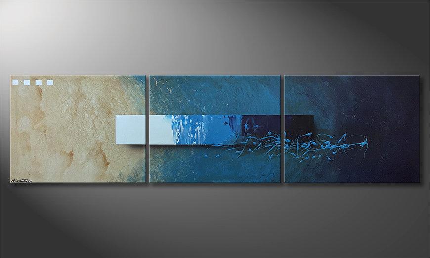 Nasze malarstwo Deep Water Signs 225x60x2cm