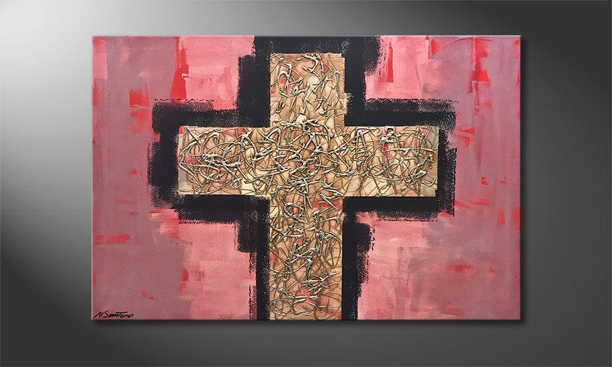 Nasze malarstwo Heavy Cross 120x80x2cm