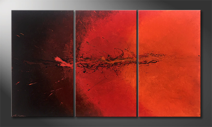 Nasze malarstwo Hot Splash 150x85x2cm
