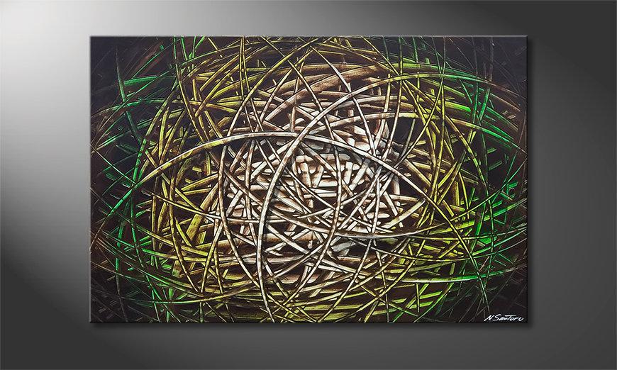 Nasze malarstwo Jungle Moon 120x80x2cm