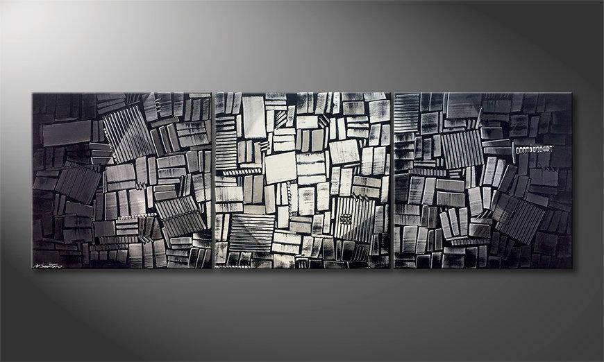 Nasze malarstwo Moonlit Night 240x80x2cm