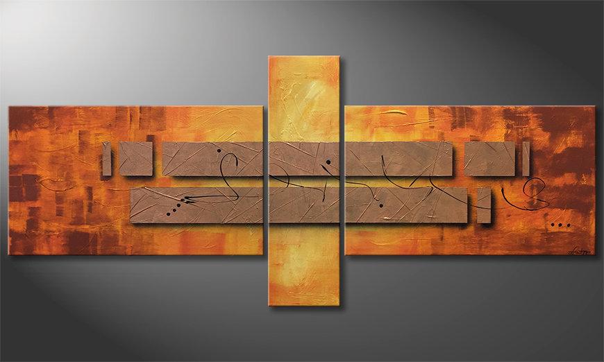 Nasze malarstwo Pieces of Afterglow 230x100x2cm