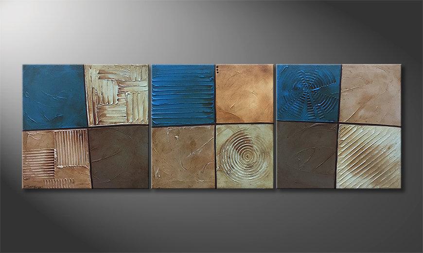 Nasze malarstwo Refreshing Moments 210x70x2cm