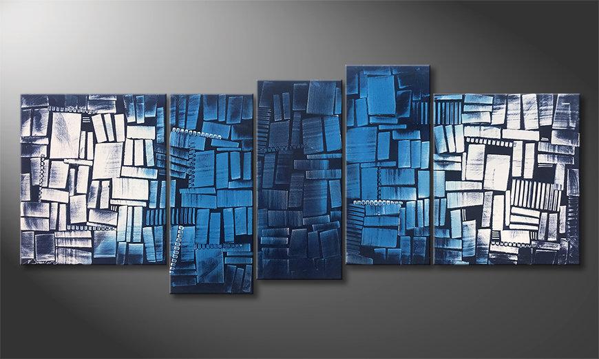 Nasze malarstwo Splited Water 190x80x2cm