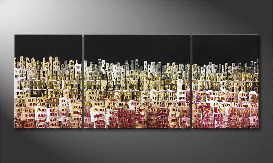 Nowoczesna sztuka Urban Desert 180x70x2cm