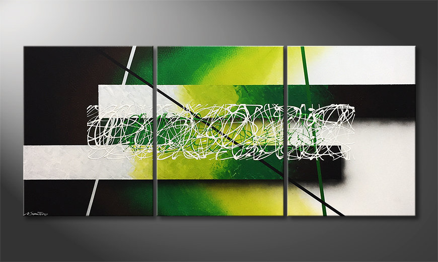 Obraz Green Connection 180x80cm
