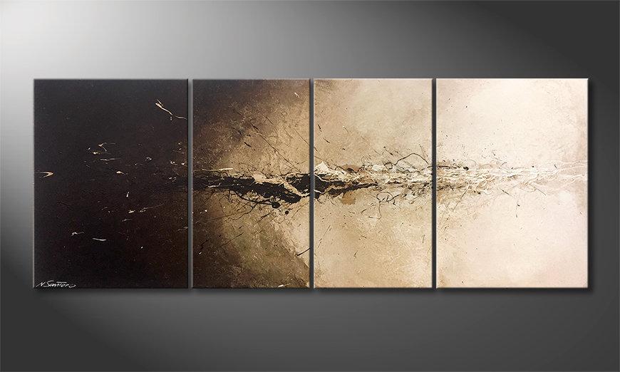 Obraz do salonu Liquid Earth 180x70x2cm